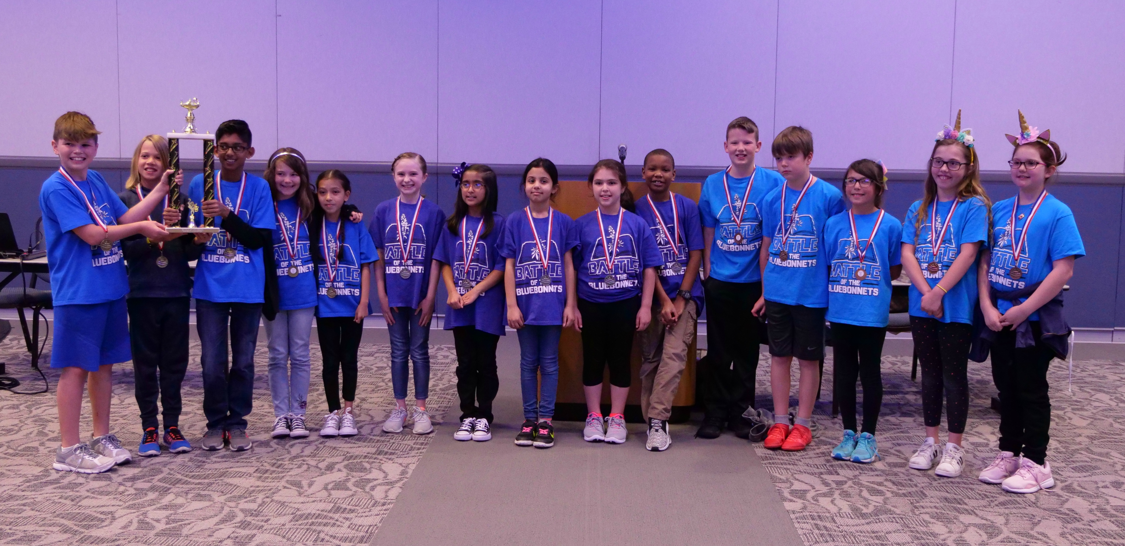 2018 MISD Battle of the Bluebonnets winners