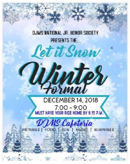 Information about DJMS Winter Formal