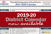 2019-20 District Calendar Now Available